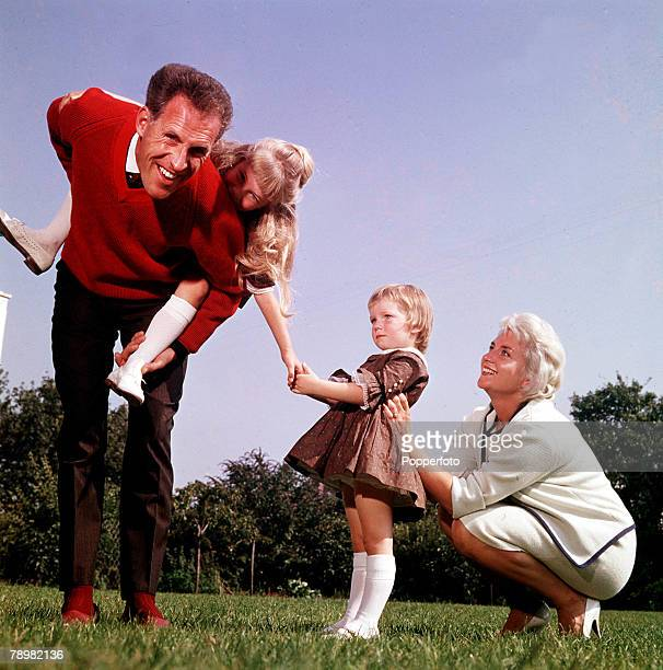 1961 A picture of British entertainer Bruce Forsyth and his wife Penny and children