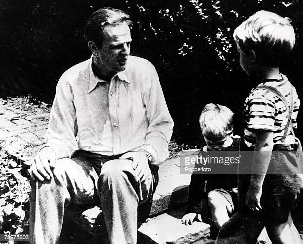 A picture of Cambridge educated Russian spy Donald MacLean associated with a group of Cambridge Univerty spies including Guy Burgess Kim Philby John...