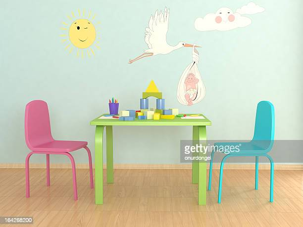 Picture of colorful child play room