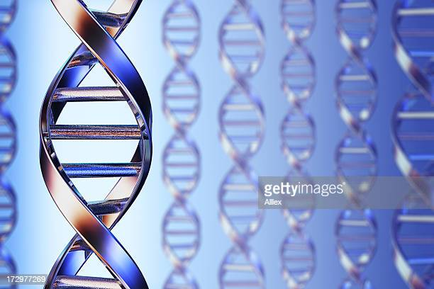 Picture of DNA closeup for gene splicing