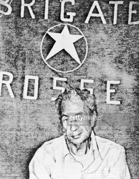 A picture of expremier Aldo Moro who was kidnapped by terrorists on March 16th is shown here The picture was released by Red Brigades and shows Aldo...