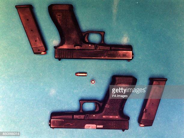 A picture of Glock 17 self loading 9mm pistol *A Glock 9mm pistol similar to the one which dropped from the holster of one of Prince William's...