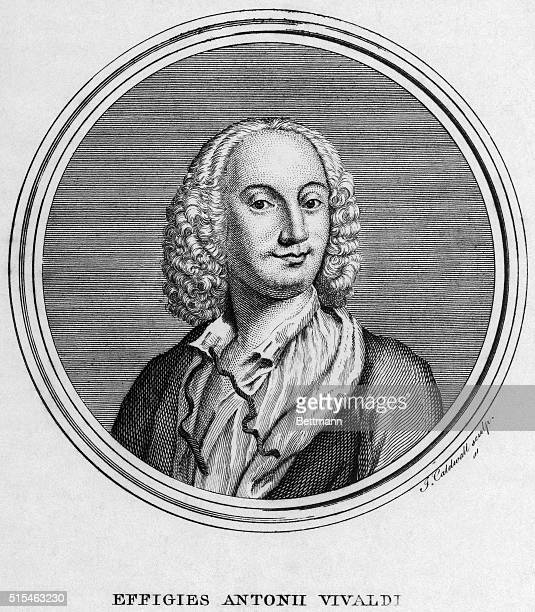 Picture of Italian violinist and composer Antonio Vivaldi
