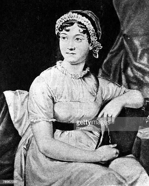 A picture of Jane Austen the English novelist