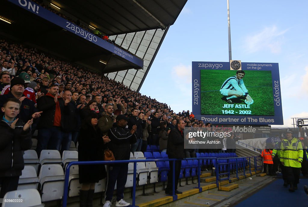SOCCER : FA Cup Round Four - Birmingham City v West Bromwich Albion : News Photo