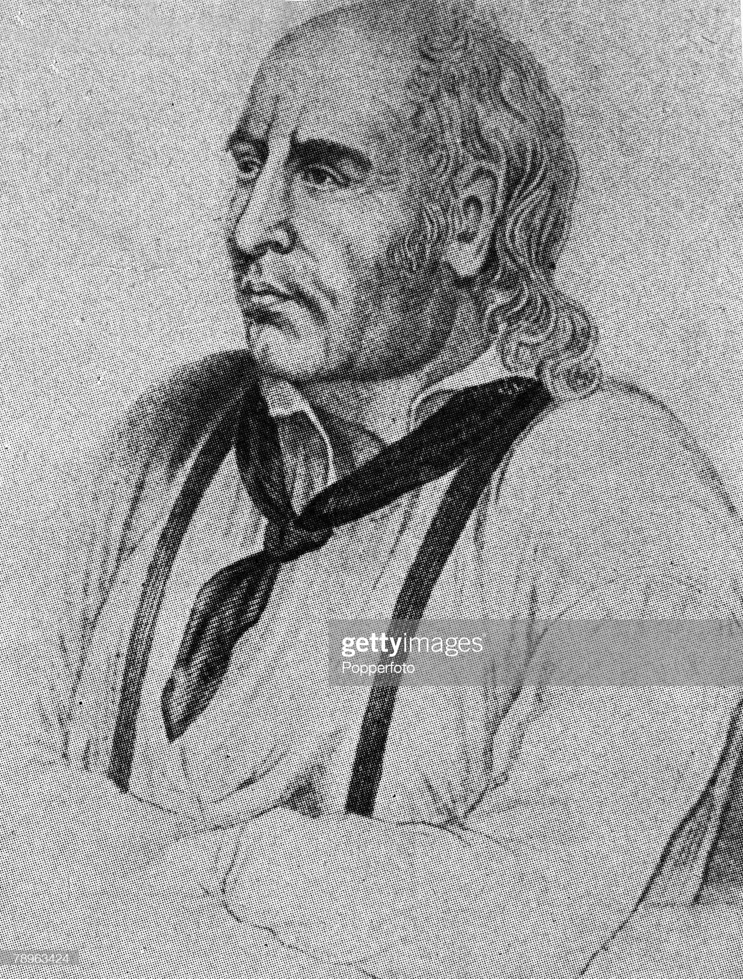 A picture of John Adams- alias Alexander Smith- (c.1760-1829), the English seaman who was part of the crew of HMS Bounty which mutinied in 1812 and landed on Pitcairn Island. : Fotografía de noticias