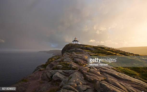 picture of lighthouse, st. john's, newfoundland and labrador, canada - paisajes de st johns fotografías e imágenes de stock