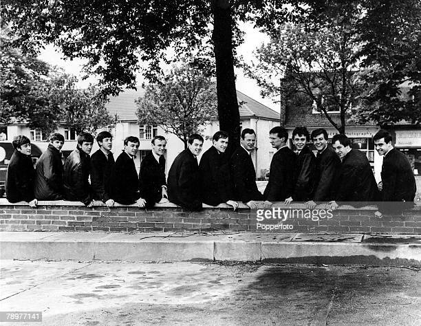 1963 A picture of Liverpool Sixties pop groups LR The Beatles John Lennon Ringo Starr George Harrison Paul McCartney Gerry and the Pacemakers Gerry...