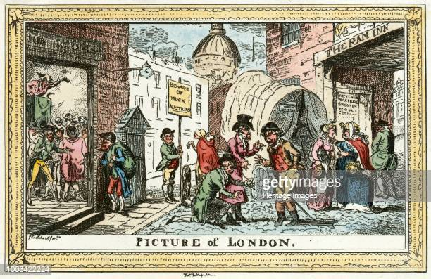 Picture of London' 1820 From the Mayson Beeton Collection Artist George Cruikshank