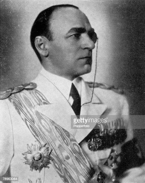 A picture of M Armand Calinescu the Romanian Prime Minister who was assassinated in September 1939