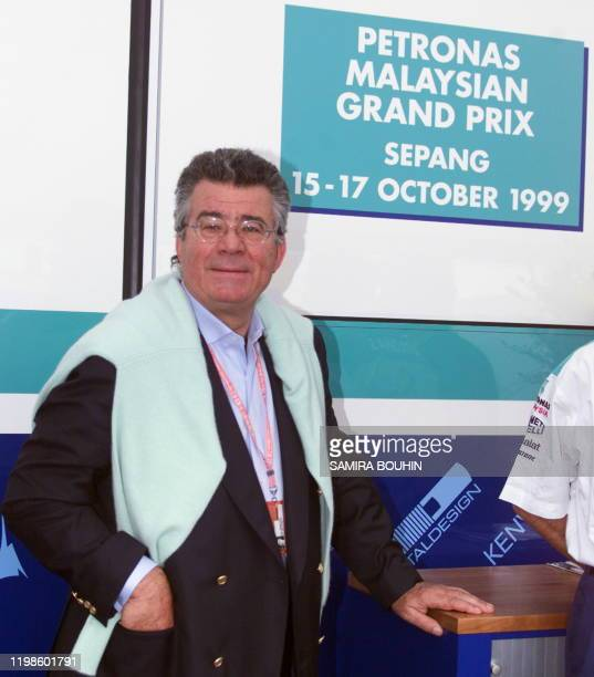 Picture of Malaysian Formula One Grand Prix promotor Philippe Gurdjian taken 27 June 1999 in the paddocks of the MagnyCours racetrack before the 85th...
