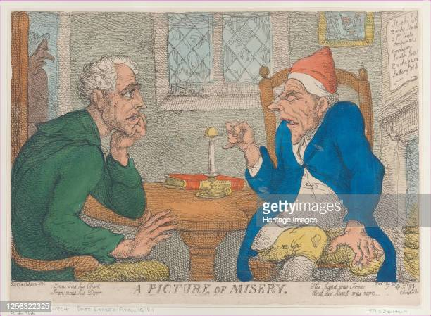 A Picture of Misery April 10 1811 Artist Thomas Rowlandson