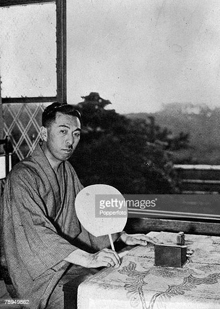 A picture of Prince Fumimaro Konoye the Japanese politician