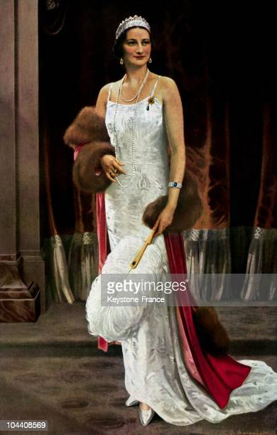 A picture of Queen ASTRID of Belgium born ASTRID of Sweden She married King LEOPOKD III of Belgium in 1926