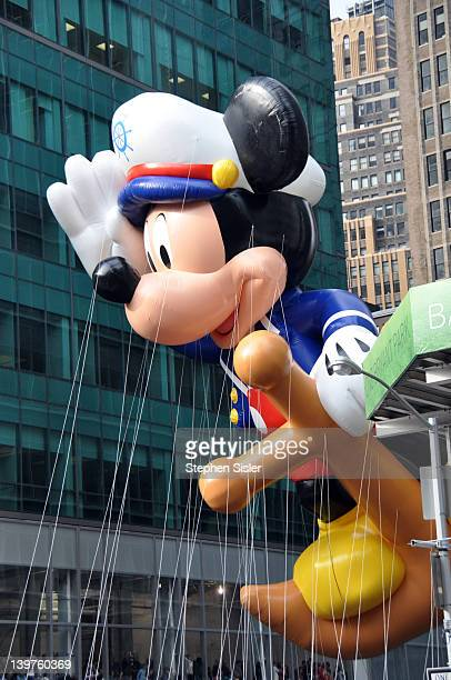 Picture of Sailor Mickey in Macy's 2009 Thanksgiving Day Parade New York City. Photo taken Thursday November 26, 2009.