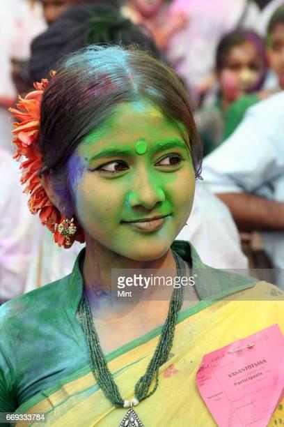 Picture of Shantiniketan's Basanta Utsav