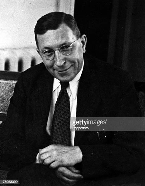 A picture of Sir Frederick Grant Banting the Canadian physiologist and Nobel Prize winner