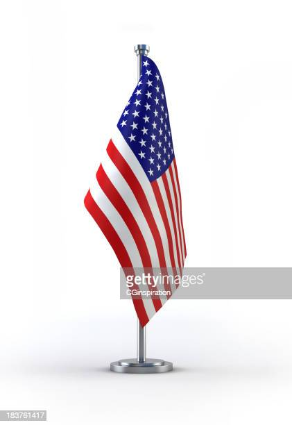 A picture of the American flag