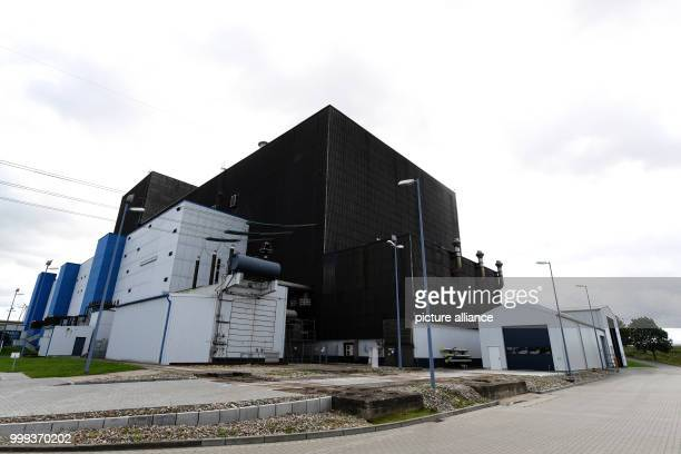 Picture of the Brunsbuttel nuclear power plant taken in Brunsbuttel Germany 22 August 2017 The plant's operator Vattenfall announced here the power...