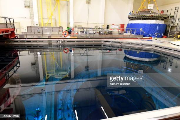 Picture of the Brunsbuttel nuclear power plant's reactor hall taken in Brunsbuttel Germany 22 August 2017 The plant's operator Vattenfall announced...