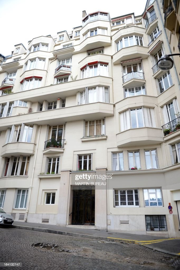 Picture of the building where live IMF chief and former French Finance Minister Christine Lagarde, taken on March 20, 2013 in Paris, during a search by French police at her home, in connection with a probe into her handling of a high-profile scandal when she was a government minister. The investigation concerns Lagarde's 2007 decision to order a panel of judges to arbitrate on the fallout from a dispute between disgraced tycoon Bernard Tapie and the collapsed bank Credit Lyonnais. The arbitration resulted in Tapie being awarded around 400 million euros ($500m).