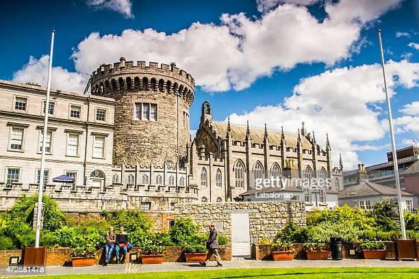 picture of the dublin castle - dublin castle dublin stock pictures, royalty-free photos & images