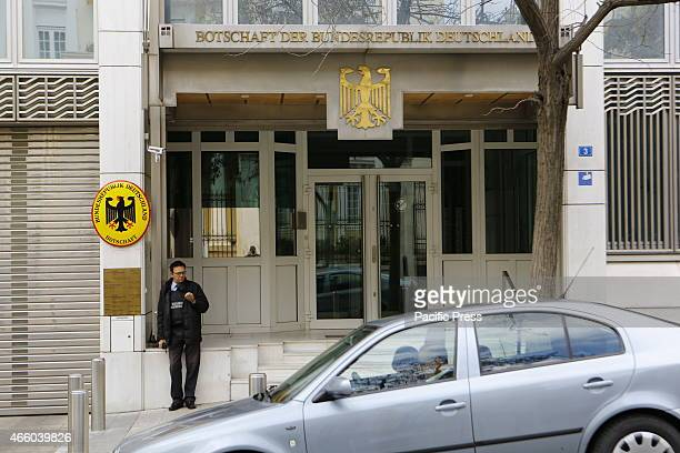 Picture of the German Embassy in Athens The Greek Government threatens to confiscate German properties from German institutions in Greece like the...