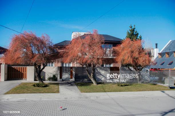 Picture of the house of former Argentine President and current senator Cristina Fernandez de Kirchner in Rio Gallegos Santa Cruz Province in southern...