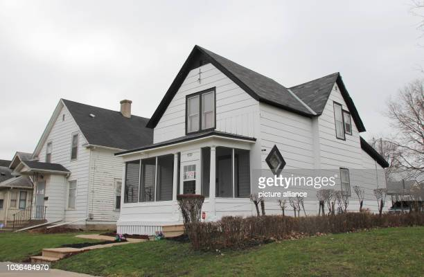 A picture of the house where the american musician Prince grew up in Minneapolis Minnesota USA taken on 13 April 2017 On April 21st 2016 died the...