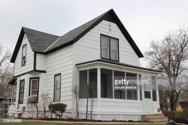 A picture of the house where the american musician Prince grew up inMinneapolis Minnesota USA taken on 13 April 2017 On April 21st 2016 died the...