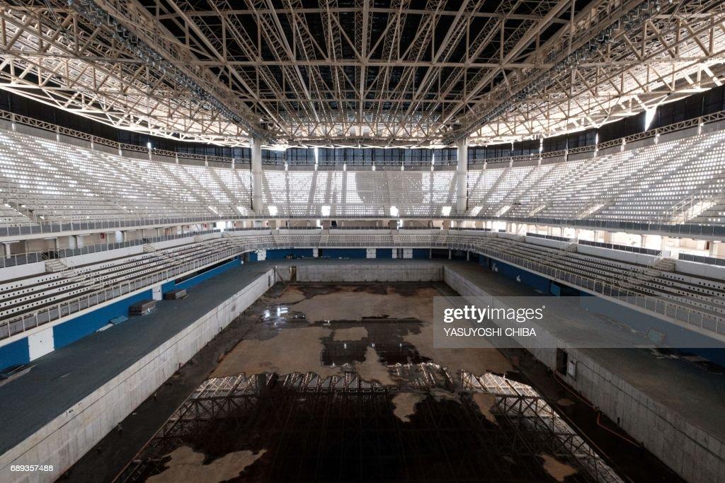 OLY-2016-RIO-SWIMMING-OLYMPIC AQUATICS STADIUM : News Photo