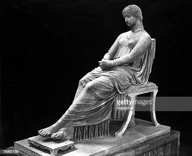 A picture of the statue of Agrippa the Elder the Mother of Caligula and Agrippa the younger