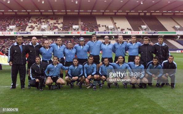 Picture Of The Uruguayan Rugby Team Taken Before The Rugby World Cup News Photo Getty Images