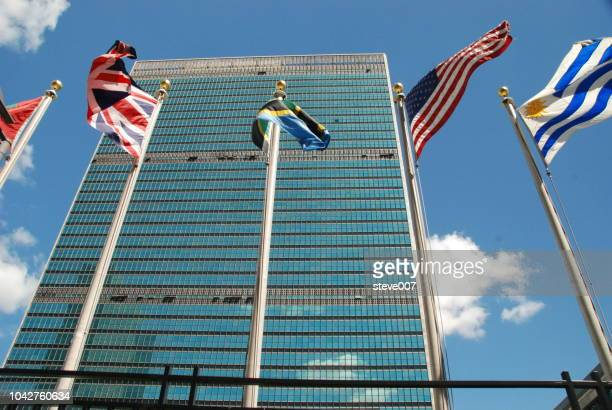 Picture Of United Nations Flags.  Photo taken Friday May 23, 2008.