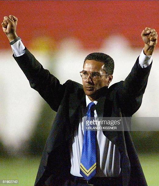 Picture of Wanderlei Luxemburgo took in Londrina Brazil 02 February 2000 Luxemburgo told Brazilian press 30 December 2004 he was the new coach of the...