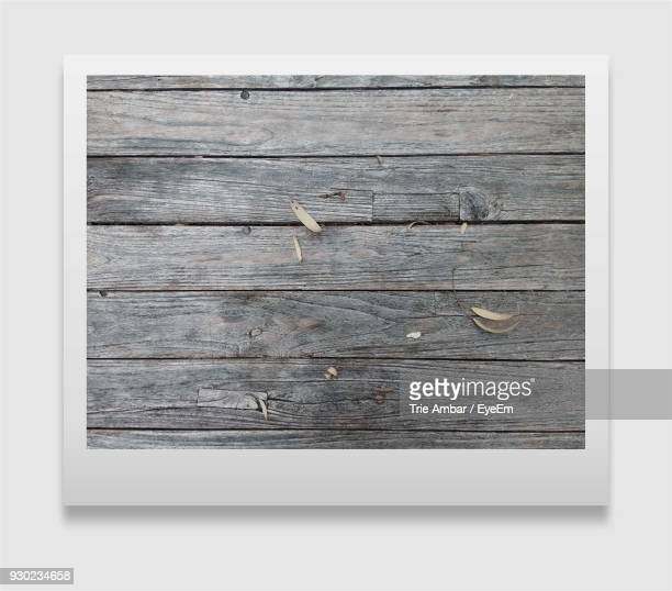 Picture Of Wooden Surface On White Background