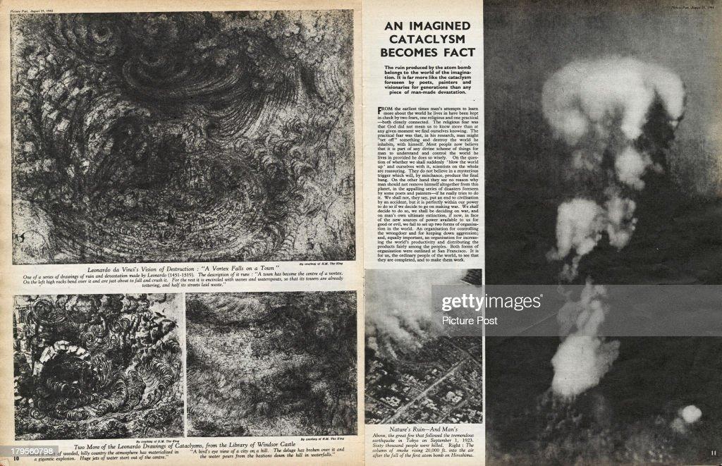 Man Enters The Atom Age : Photo d'actualité