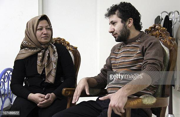 A picture released by Iran's staterun Press TV shows Iranian 43yearold Sakineh MohammadiAshtiani who has been sentenced to death by stoning for...