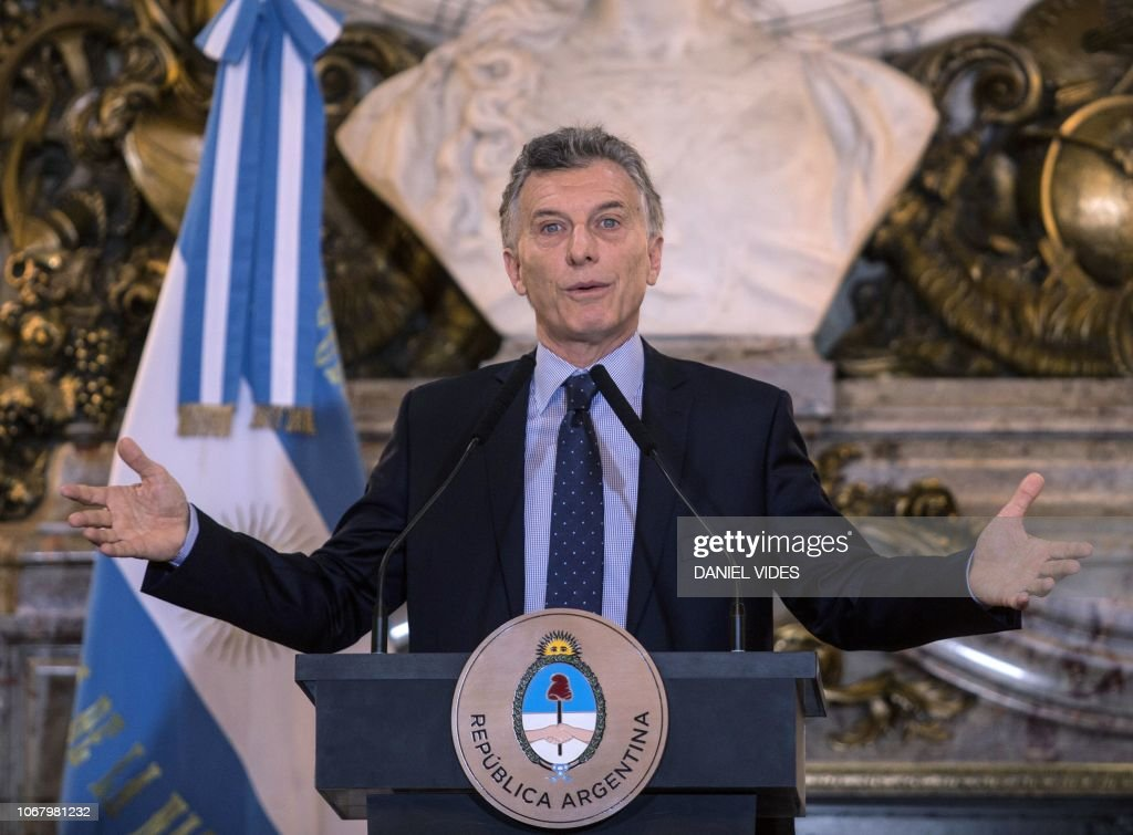 ARGENTINA-G20-SUMMIT-MACRI : News Photo