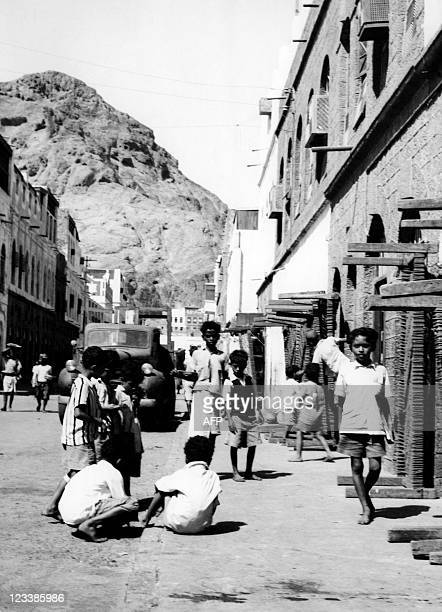 Picture released in the 60s Yemeni children playing in streets of Yemen A civil war started in the 60s between Republicans of North Yemen called...