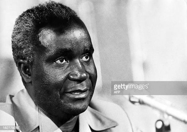 Picture released on 1975 of Kenneth Kaunda president of Zambia