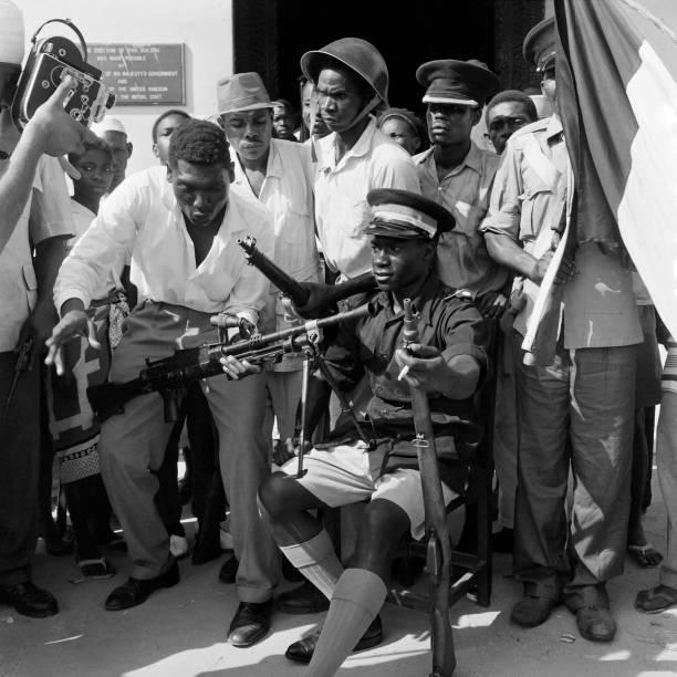 Picture released on January 18 1964 of John Gideon Okello named president of Zanzibar on January 12 1964 after the leader of the Zanzibar revolution...