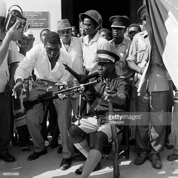Picture released on January 18 1964 of John Gideon Okello named president of Zanzibar on January 12 1964 after the leader of the Zanzibar revolution...