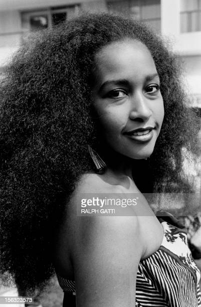 Picture released on May 221982 during the International Film Cannes Festival of Marsha Hunt US singer novelist actress and model born in 1946 in...