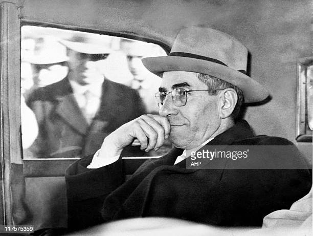 Picture released on november 1954 of Italian born ganster Charles Lucky Luciano