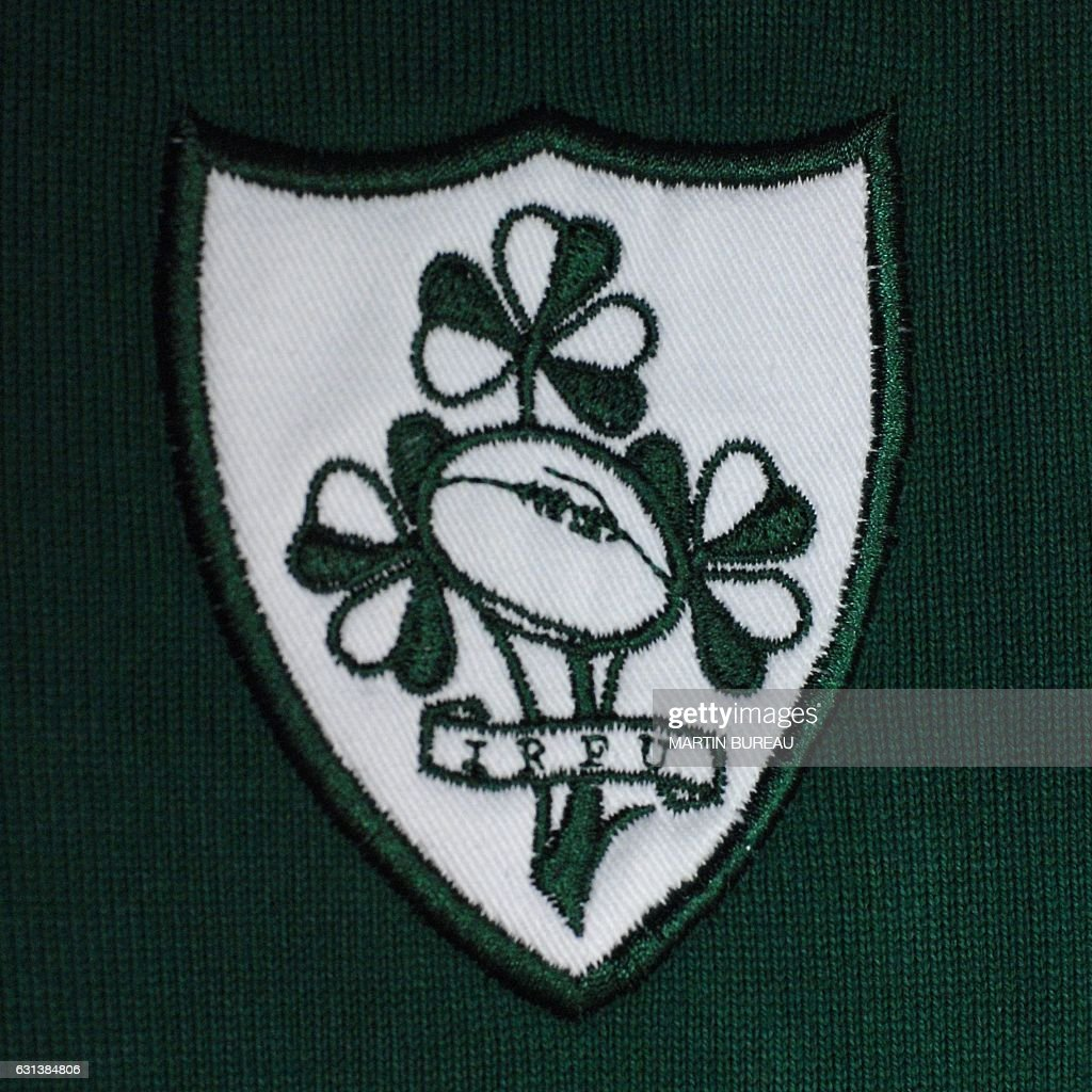 Picture Showing The Logo Of The Irish Rugby Union Team Taken 24