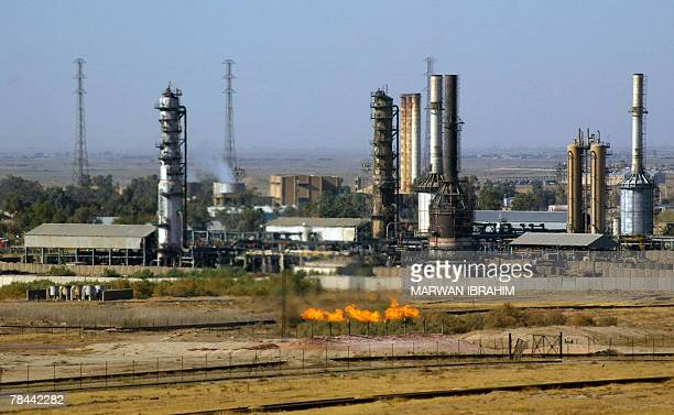 A picture shows a an oil refinery in the oil rich city of Kirkuk north of Baghdad 13 December 2007 A High ranking Iraqi official in the northern...