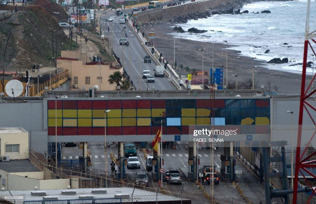 MOROCCO-SPAIN-MIGRANTS : News Photo