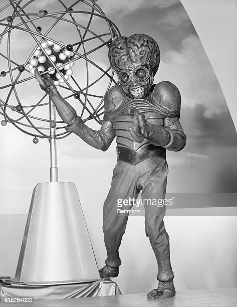 1955 Picture shows a mutant halfhuman halfinsect makes its screen bow as the newest monster on the movie front in UniversalInternational's...