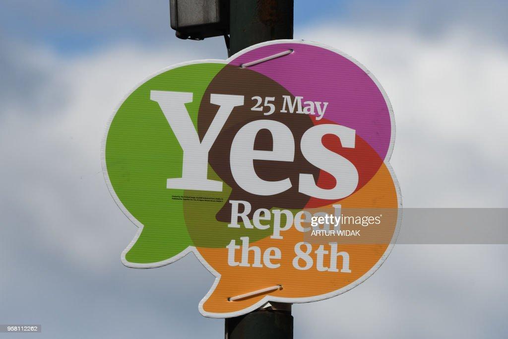 IRELAND-ABORTION-POLITICS-VOTE : News Photo